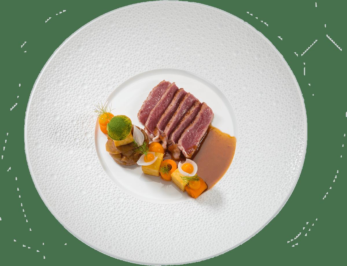 Restaurant Zeeland, hoofdgerecht Restaurant De Kleine Toren van Baarland