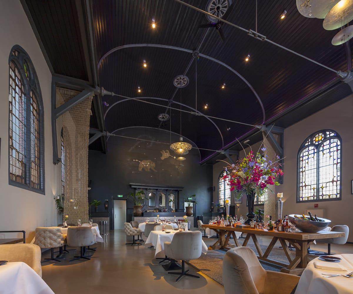 Restaurant De Kleine Toren - Het interieur